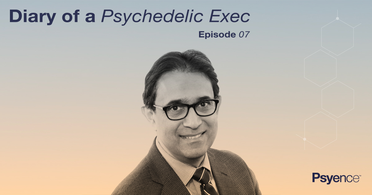 Dr Amza Ali | Dary of a psychedelic Exec | Psyence